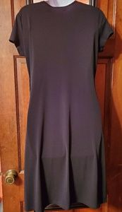 attention Dresses - Black wrap dress